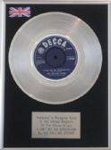 "THE ROLLING STONES -   7"" Platinum Disc  SATISFACTION"